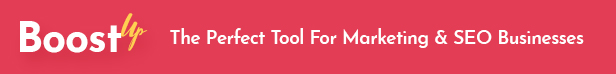 BoostUp - SEO Marketing Agency Theme - 1